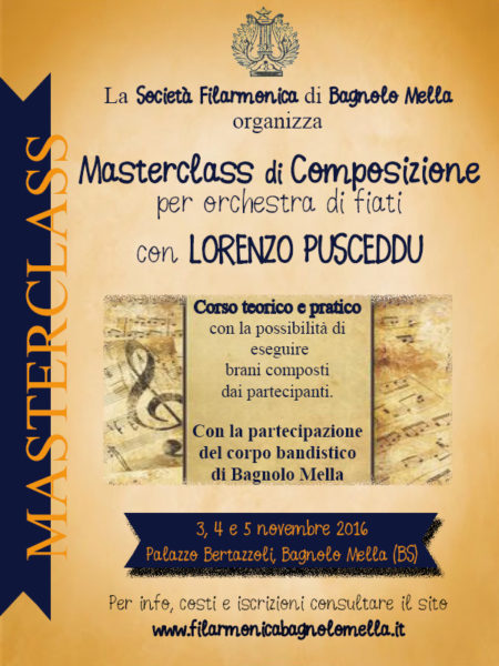 Locandina Masterclass